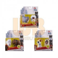 The Secret Life of Pets Max and Snowball Vinyl 2 Pack Altx