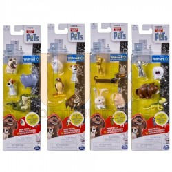The Secret Life of Pets Mini Pet 4 Pack Asst