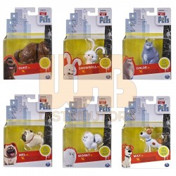 The Secret Life of Pets Pet Figures Asst