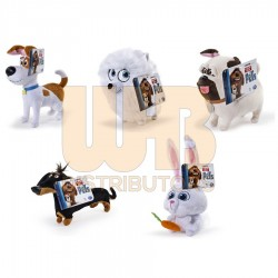 The Secret Life of Pets 6inch Plush Asst