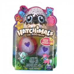 Hatchimals CollEGGtibles 2 Pack + Nest Asst