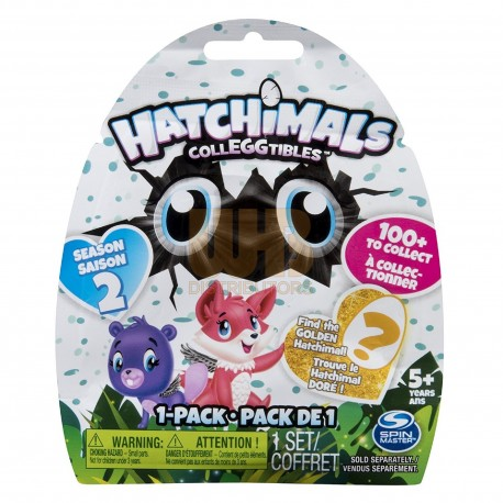 Hatchimals CollEGGtibles S2 1 Pack Asst