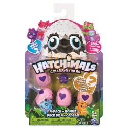 Hatchimals CollEGGtibles S2 4 Pack + Bonus Asst