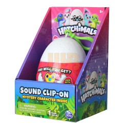 Hatchimals Mystery Mini 3.5 inch Plush Clip On in Egg with Sound Asst