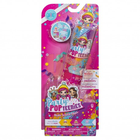 Party Popteenies Surprise Double Poppers Asst