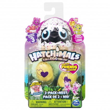 Hatchimals CollEGGtibles S3 2 Pack + Nest Asst