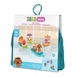 Sago Mini Bath Toys Foam Boats