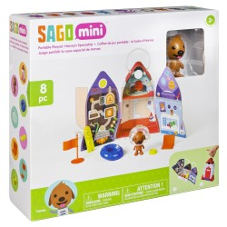 Sago Mini Portable Playset Harvey's Spaceship