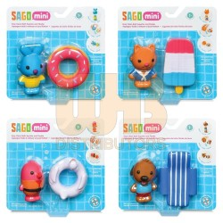 Sago Mini Easy Clean Bath Squirter and Floatie Asst