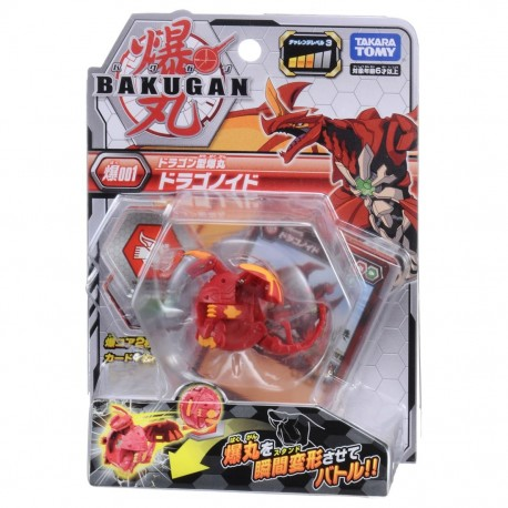 Bakugan 001 Dragonoid Red Basic Pack