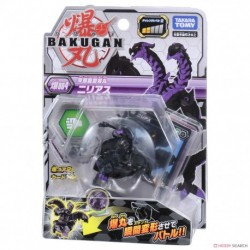 Bakugan 004 Nillious Black Basic Pack