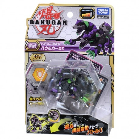 Bakugan Battle Planet 005 Howlkor Black DX Pack
