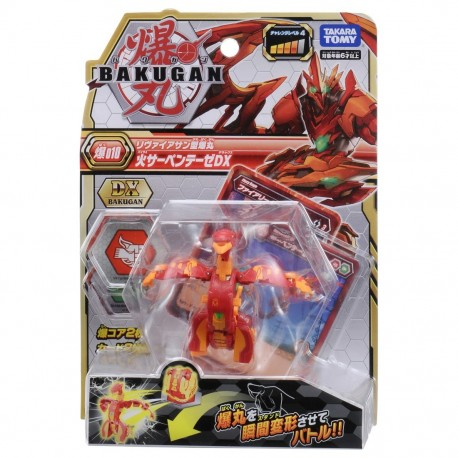 Bakugan Battle Planet 010 Serpenteze Red DX Pack