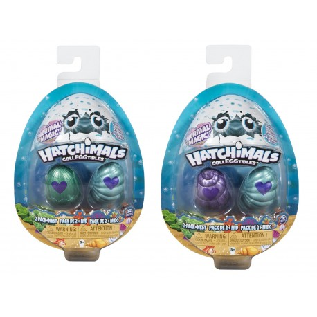 Hatchimals Colleggtibles S5 2 Pack + Nest GML Asst