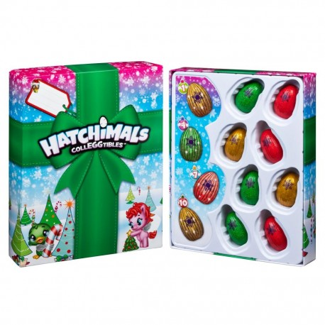 Hatchimals CollEGGtibles Christmas Surprise Gift Set