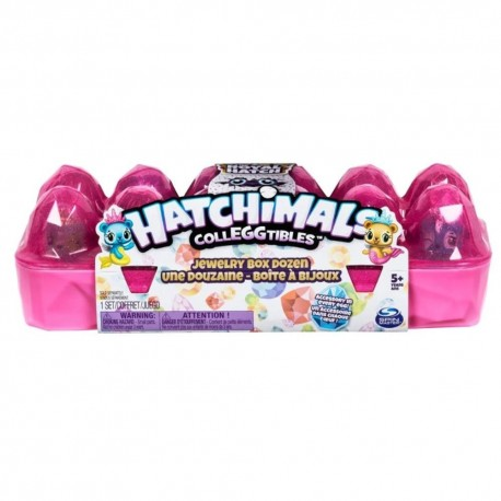 Hatchimals CollEGGtibles Jewelry Box Royal 12 Pack Asst