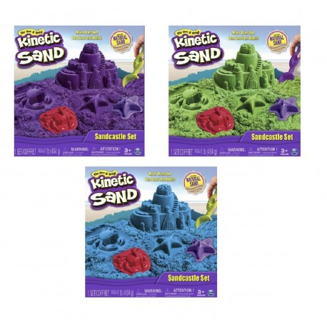 Kinetic Sand Boxed Set Sand 1lb (454g) Asst