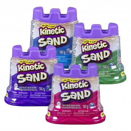 Kinetic Sand Single Container 5oz (141g) Asst