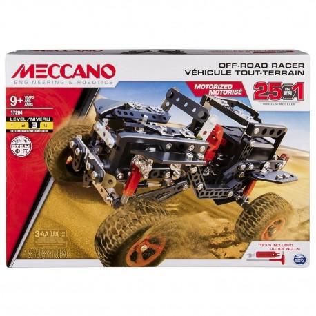 Meccano 25 Models Set 4x4 Off-Road Truck