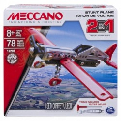 Meccano 2-in-1 Model - Stunt Plane