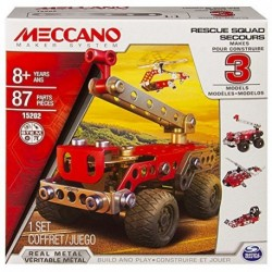 Meccano Multi 3 Model Set - Fire Truck