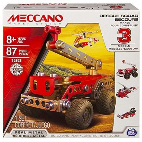 Meccano Multi 3 Model Set - Fire Truck