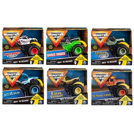 Monster Jam 1:43 Rev N Roar Trucks Asst