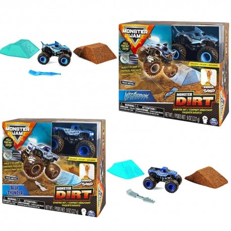 Monster Jam Kinetic Dirt Starter Set Asst