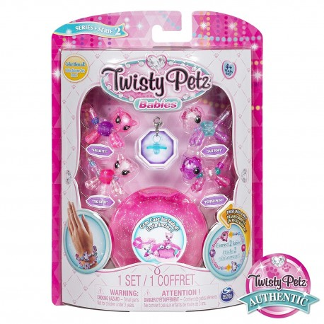 Twisty Petz Twin Babies 4 Pack Bracelet Asst