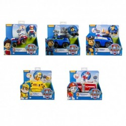 Paw Patrol Basic Vehicle W/Pup Asst