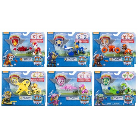 Paw Patrol Air Rescue Pack Pup and Badge Asst