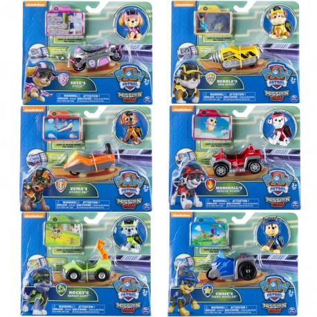 Paw Patrol Mission Mini Vehicles Asst