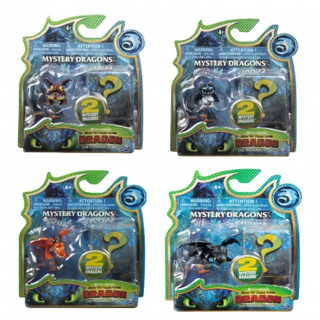 How to Train Your Dragon 3 Mystery Dragons 2 Pack Asst