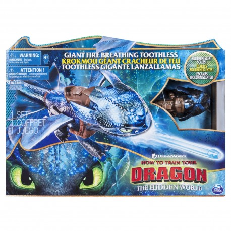 How to Train Your Dragon 3 Fire Breathing Toothless