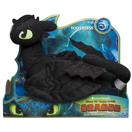 How to Train Your Dragon 3 Deluxe Plush Toothless
