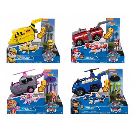 Paw Patrol Flip and Fly Vehicle Asst