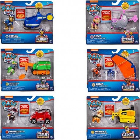 Paw Patrol Ultimate Rescue Mini Vehicle Asst