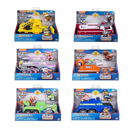 Paw Patrol Ultimate Rescue Themed Vehicle Asst