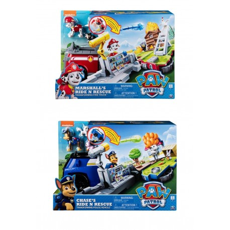 Paw Patrol Ride n Rescue Vehicle Asst