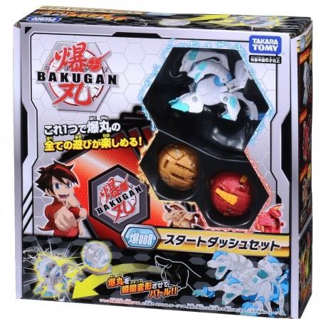 Bakugan Battle Planet 008 Card Game Starter Set Vol 1 (Howlkor Black DX, Dragonoid Red, Pegatrix Gold)