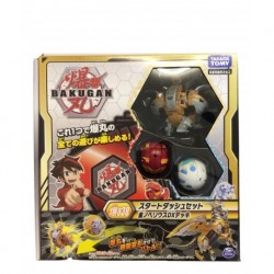 Bakugan Battle Planet 038 Starter Set (Black Hydra DX, Red Double Headed Dragon, Blue Gorilla)