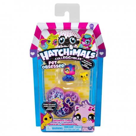 Hatchimals Colleggtibles S7 HatchiPets Pack Asst