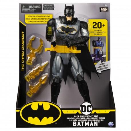 Batman 12-Inch Action Figure Deluxe (Sounds Only, No Voice)