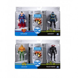 DC Comics 4-Inch Battle Action Figure 2 Pack Asst