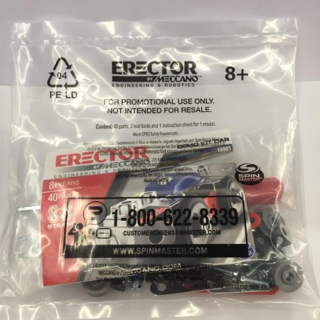 Meccano Erector Sample Pack