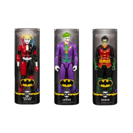 Batman 12-Inch Action Figure Asst (Harley Quinn, Robin, Joker)
