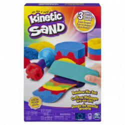 Kinetic Sand Rainbow Mix Stack Set