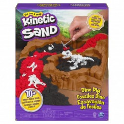 Kinetic Sand Digging for Dinos