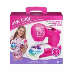 Cool Maker Sew Cool Sewing Machine with 5 Trendy Projects and Fabric