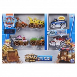 Paw Patrol True Metal Die Cast Vehicles Off Road Mud Gift Set